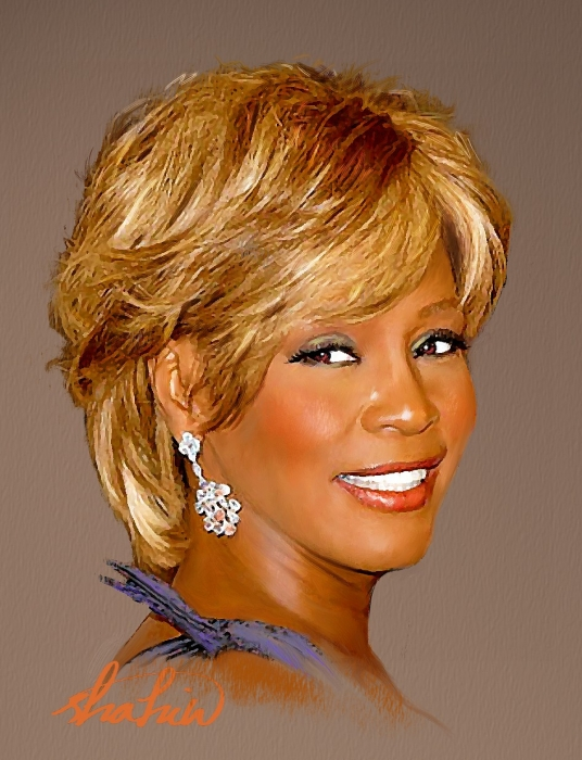 Whitney Houston par shahin